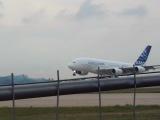 посадка А380 на МАКС 2011