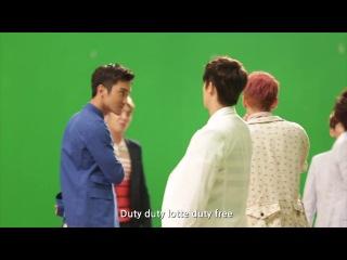 [130903] LOTTE DUTY FREE Music Video Making Film – Super Junior [ан.саб]
