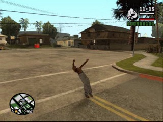 Gta San Andreas Freeruning !